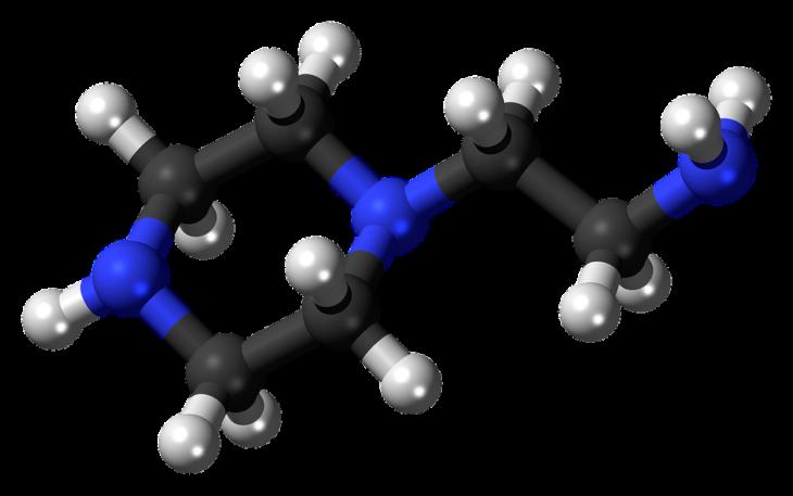 nitrógeno molécula
