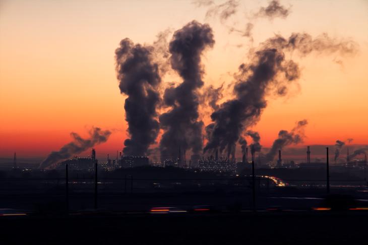 Polución gases efecto invernadero