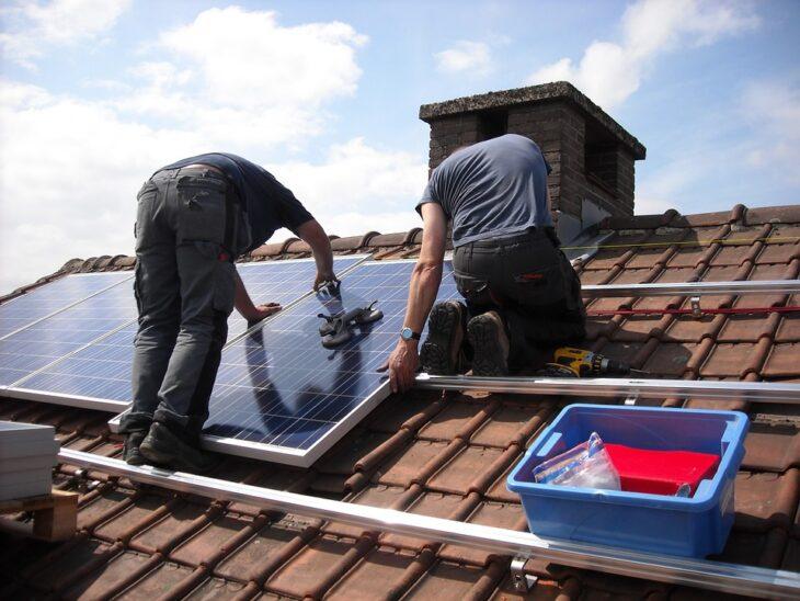 colocación paneles solares