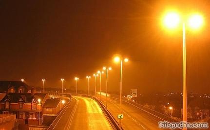 contaminación luz artificial