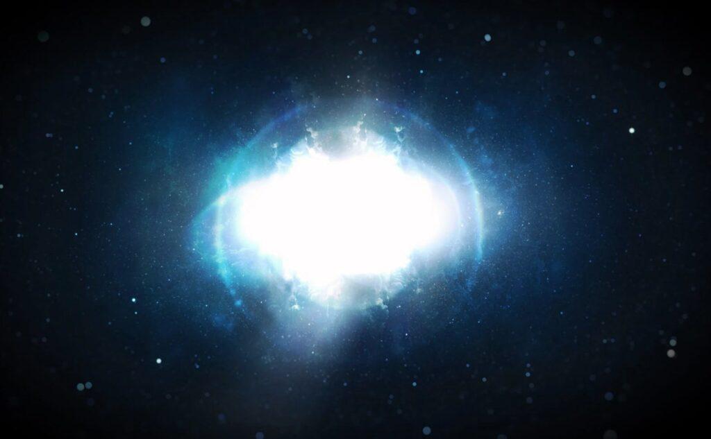 Imagen de agujero blanco