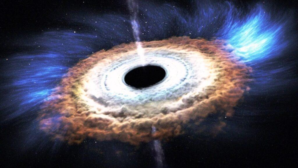 Los agujeros negros son redondos u ovalados