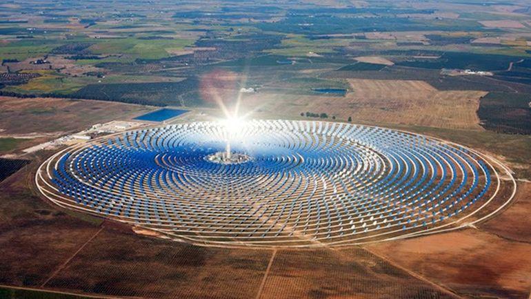 Planta de energía solar en Marruecos