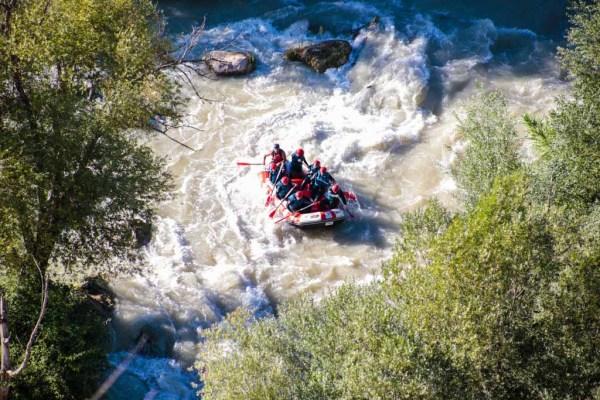 experiencia en descenso de ríos